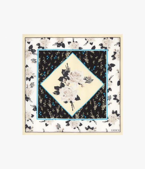 Small Square Scarf Rosemont Wallpaper