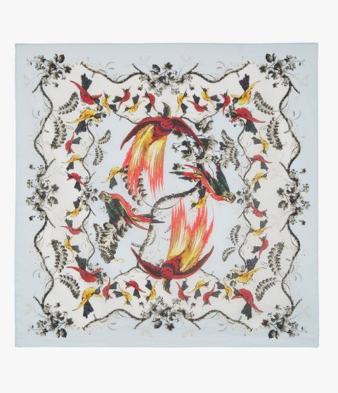 Printed with this season's Paisley Parrot design, this bandana will bring a pop of colour to your summer outfits.