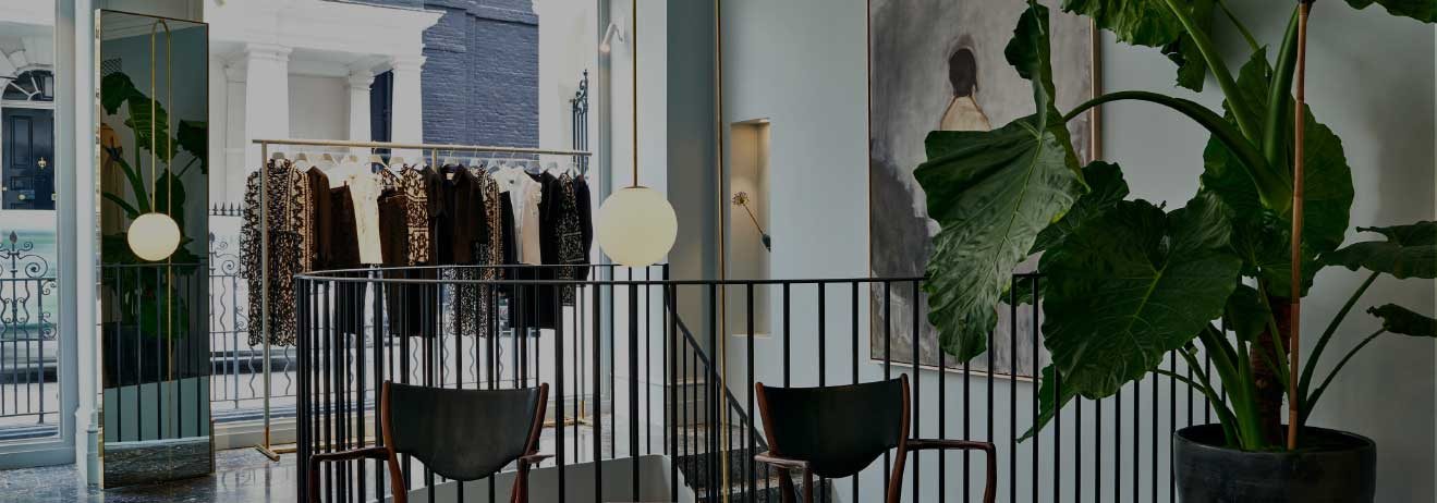 ERDEM's London store, a boutique fashion experience